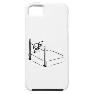 Atletismo de StickMan del salto de altura iPhone 5 Carcasa