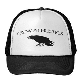 Atletismo del cuervo gorras