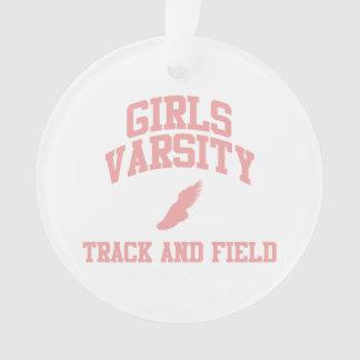 Atletismo rosado del equipo universitario de los