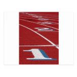 Atletismo Tarjeta Postal