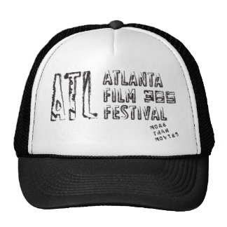 ATLFF365 Black and White Cap Trucker Hat