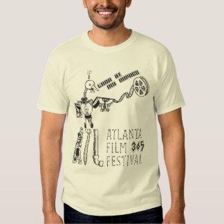 ATLFF365 Robot Movie Bird Movie T-shirt