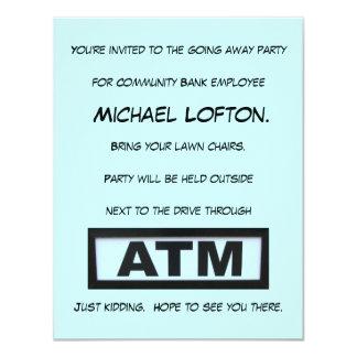 ATM 4.25X5.5 PAPER INVITATION CARD