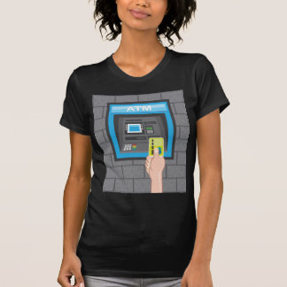 ATM human hand with a card Tee Shirt