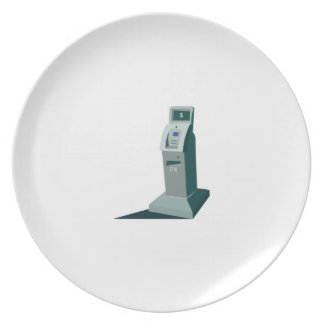 ATM Machine Party Plate