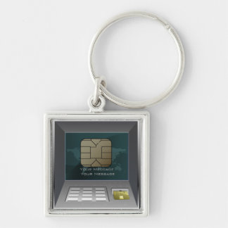 ATM Money Keychain
