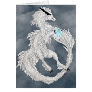 Atmos the Air Dragon Greeting Card
