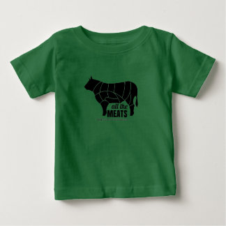 Atmósfera - Camiseta infantil de la maldad rolliza Polera