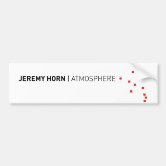 Atmosphere Bumper Sticker Car Bumper Sticker
