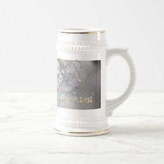 atmospheric christmas 18 oz beer stein