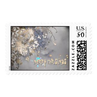 atmospheric christmas postage