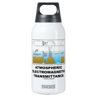Atmospheric Electromagnetic Transmittance 10 Oz Insulated SIGG Thermos Water Bottle
