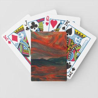 Atmospheric Landscape 1 - Mood Emotion Passion Poker Cards