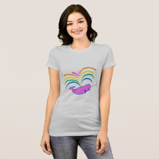 Atmospheric Narwhal T-Shirt