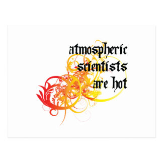 Atmospheric Scientists Are Hot Postcard