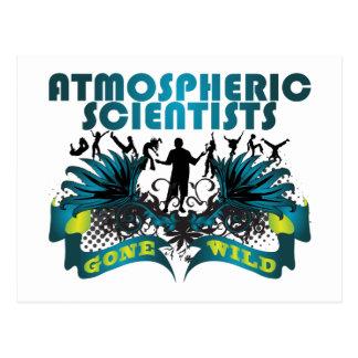 Atmospheric Scientists Gone Wild Postcard