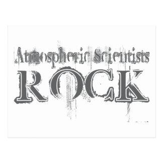 Atmospheric Scientists Rock Postcard
