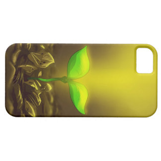 Atmospheric Spring Leaf iPhone SE/5/5s Case
