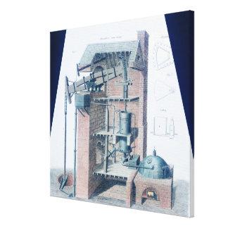 Atmospheric Steam Engine Canvas Print