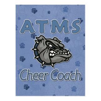 ATMS Cheer COACH Postcard