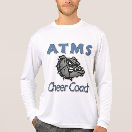 Atms cheer coach t shirt zazzle for Atm t shirt sale