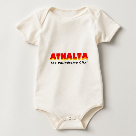 Atnalta: The Palindrome City Baby Bodysuit
