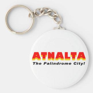 Atnalta: The Palindrome City Keychain