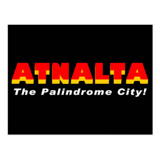 Atnalta: The Palindrome City Postcard