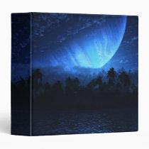 digital, atoll, tropical, sci-fi, planet, gas, giant, Fichário com design gráfico personalizado