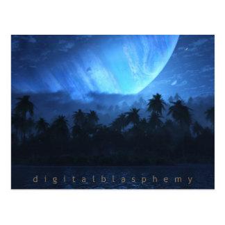 Atoll (Night) Post Card