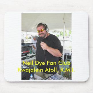 Atolón de Kwajalein del club de fans del tinte de  Alfombrilla De Ratones