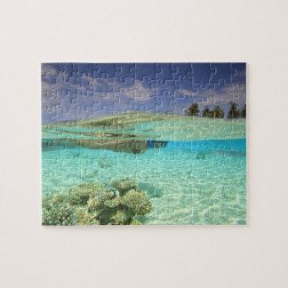 Atolón del sur de Huvadhoo, Maldivas meridionales, Puzzle Con Fotos