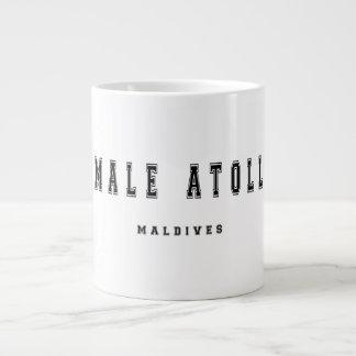 Atolón masculino Maldivas Taza Grande