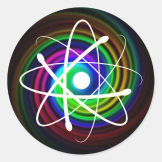 Atom (002) - sticker