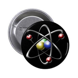 Atom 2 Inch Round Button