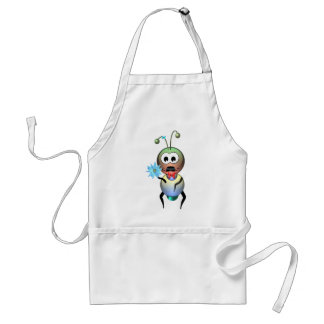 Atom Ant Flower Love Adult Apron