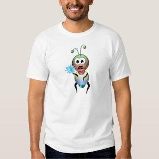 Atom Ant Flower Love T-shirt