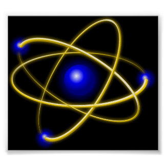Atom atom , physics , particle , science , matter poster