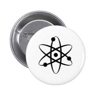 atom black 2 inch round button