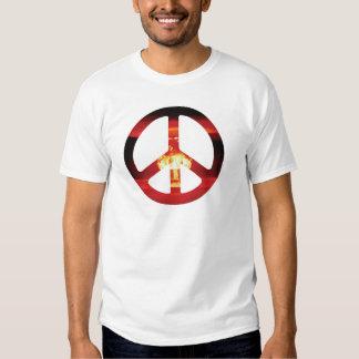 ATOM Bomb CND Sign Shirt