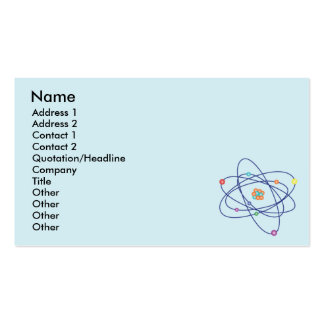 Atom - Business Business Card