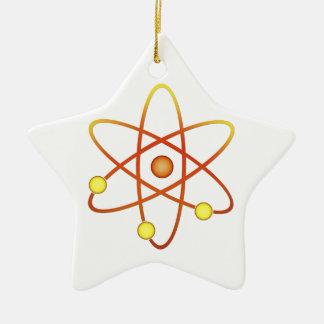 Atom Ceramic Ornament