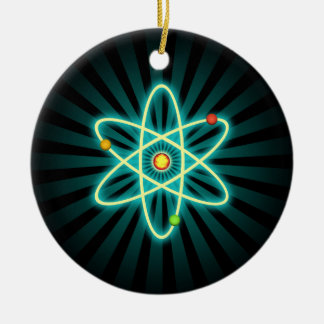 Atom Ceramic Ornament