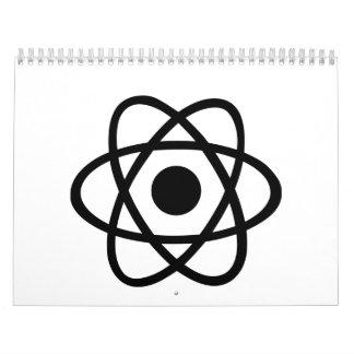 Atom icon calendar