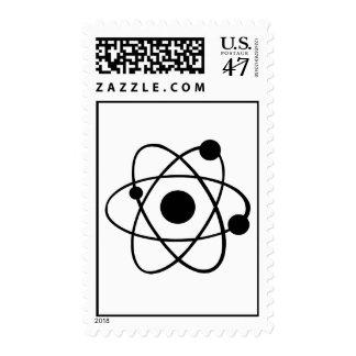 Atom icon stamp