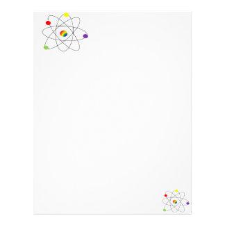 Atom Letterhead Design