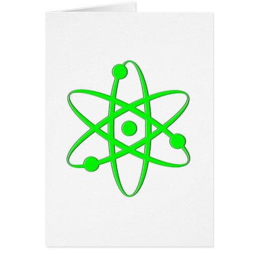 atom light green card