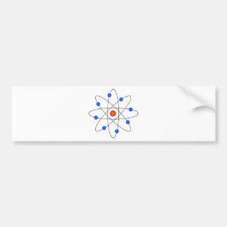 Atom Model Bumper Sticker