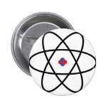 Atom Nucleus Pinback Button
