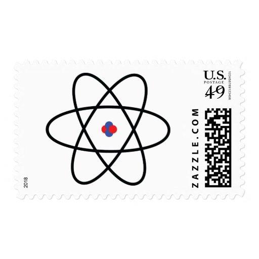 Atom Nucleus Postage